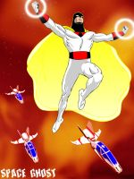 Space Ghost by jaypiscopo