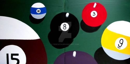 BILLIARDS POOL 8 EIGHT BALL by TEOFAITH