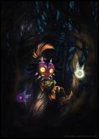 Majora's Mask by Ghorvega