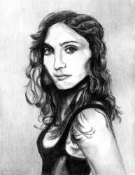 A Young Madonna by Bluesilver84