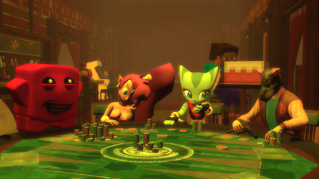 Poker Night at the Indietory by serious-sam-64-64