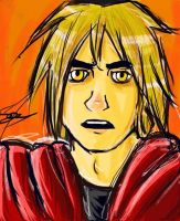 Edward Elric by SamEVPotter