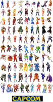 Capcom All-stars by TJE101