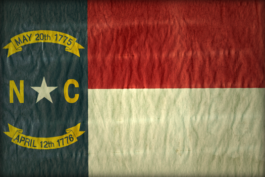 North Carolina Flag by hassified