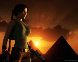 Lara Croft72 by Nicobass