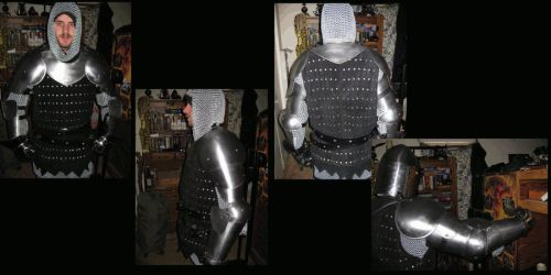 13th Century armor by HumaKaVoola