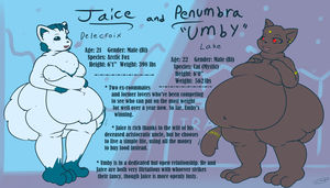 Jaice and Umby Ref (Redesign) by Axlwisp