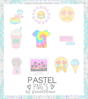 Pastel Tumblr Png's by yoaeditions