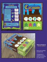Carcassonne Box Mock-up by OniPolice