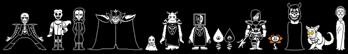 SCPTale Sprites by MegaloCook