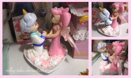 Heliusa Wedding Cake Topper. by milky-tales
