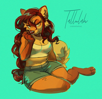 Tallulah by murkbone