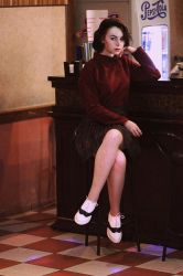 Audrey Horne cosplay by Rammstanya