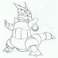Pokemon Aggron Sketch