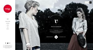 VINTAGE agency / web by The-Grin