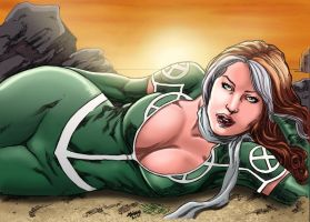 Rogue_Colored. by Troianocomics