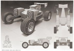 Rally car concept by martydesign