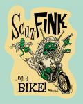 Scuz-Fink...On A Bike by recipeforhaight