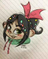 Vanellope by asami-h