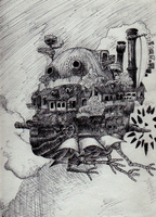 Howl's Moving Castle by CandidKatydid