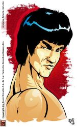 Bruce Lee by Galtharllin