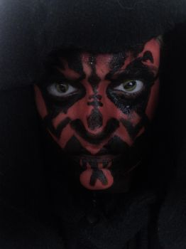 Darth Maul Makeup by tessitra