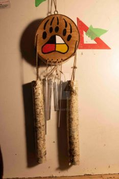 Fourdirection Bearpaw Windchime2