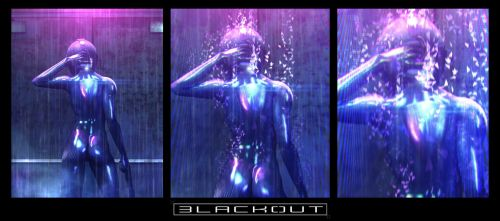 'Blackout' panel 009/010/011 by artificialdesign