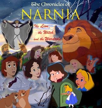 Narnia: The Lion, the Witch, and the Wardrobe by Lonewolf-Sparrowhawk