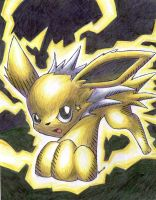 Storm the Jolteon by Togechu