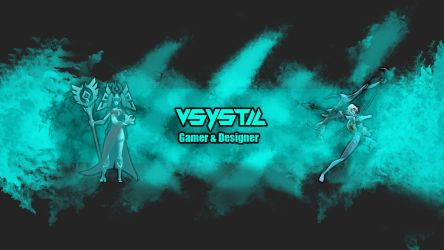 My Youtube banner. by VSyStic