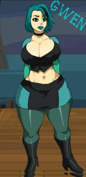 Total Drama - Gwen by 5ifty