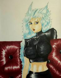Foxgirl and Leather by Bonnie-L-Price