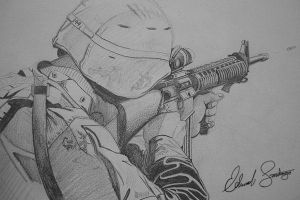 Marine Rifleman by Dragonis0