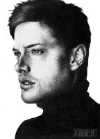 Jensen Ackles by Carlines