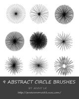 Abstract circles brushes by JennyLe88
