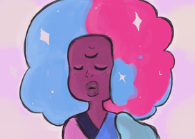 Garnet first generation(Warning Spoilers!) by DippinDot-Doodles