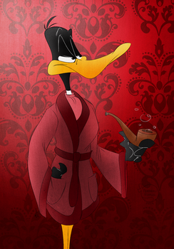 Portrait of a Duck by feathers-Ruffled