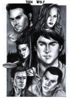 Teen Wolf by psichodelicfruit
