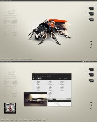 Robotic insect by iHackr