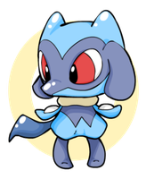 Bebe Riolu by elithespork