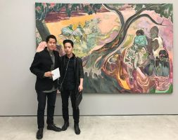 Michael Andrew Law Meets with Michael Armitage by michaelandrewlaw