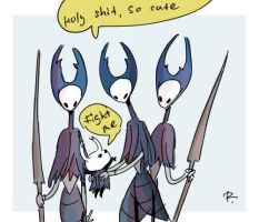 Hollow Knight, doodles 22 by Ayej