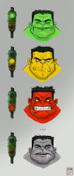 Hulk, the truth behind..... by Entropician