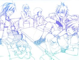 RE:Play - Lineart by cafe-lalonde