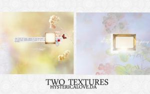 Two Textures. by hystericalove