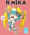 Street Fighter V -  R.Mika [Maplestory Style]
