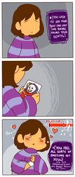[Undertale] One Last Thing.. by wolfifi