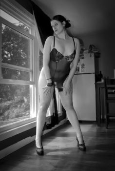 B  W PinUp by WifeErotica