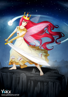 Aurora Child Of Light by YarickArt